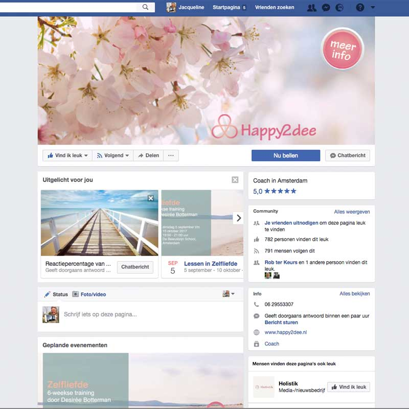 Facebook afbeeldingen Happy2dee