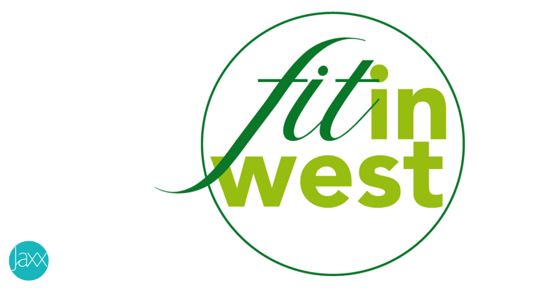 Fit in West logo