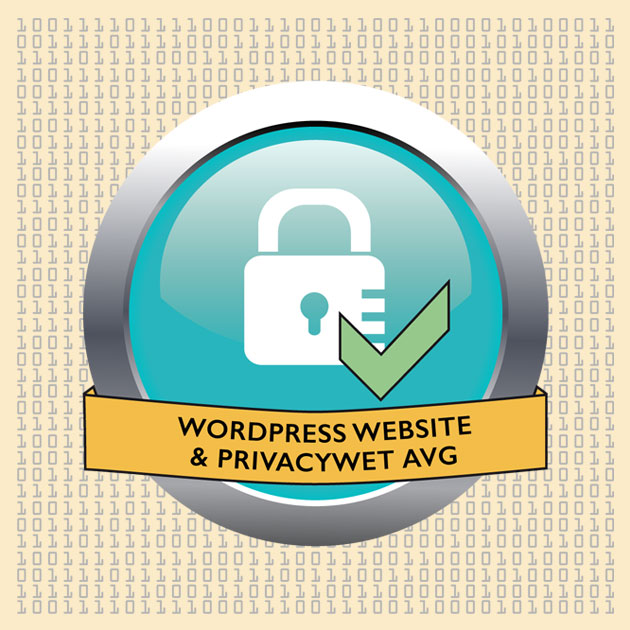 WordPress website en privacywet AVG